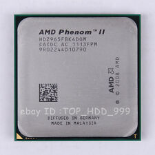 AMD Phenom II X4 965 HDZ965FBK4DGM Socket AM3 3.4 GHz 667 MHz CPU Processor