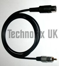 Linear amplifier keying/PTT/switching cable for Icom IC-910H