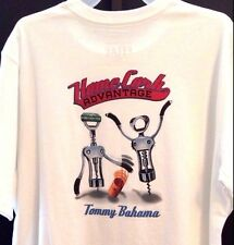 NEW TOMMY BAHAMA RELAX WHITE COTTON TR214811 TEE SHIRT MENS T SHIRT MEDIUM M