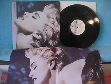 Madonna, True Blue, Sire Records, 1-25442, 1986 Includes poster! Synth-Pop, Rock