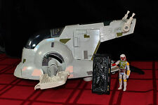 Vintage 1981 Star Wars Complete Slave One 1 Mint + Boba Fett Action Figure