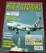 Air Pictorial 2002 March Australia,Carpatair,British United,Lithuania