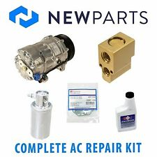 VW Cabrio Golf Jetta Complete AC A/C Repair Kit With NEW Compressor & Clutch