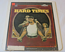 Hard Times Charles Bronson Columbia Pictures RCA CED Video Disc laserdisc Movie