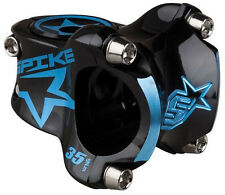 Spank Spike-Bearclaw stem (31.8) 0d x 35mm - black/blue