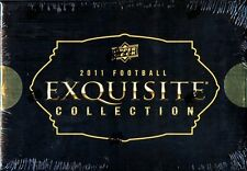 2011 Upper Deck Exquisite Football Sealed Hobby Box