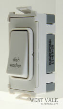 GET GUG20DPDWW - Ultimate Grid - 20a Double Pole Switch Marked Dish Washer New