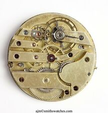 SWISS LEVER HIGH GRADE POCKET WATCH MOVEMENT  C9