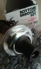 NOS BMX TEAM MONGOOSE JAG DG Shimano Spindle & End Bolt late 70s early 1980s