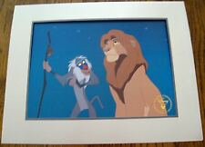 "DISNEY'S 1995  ""THE LION KING"" EXCLUSIVE COMMEMORATIVE LITHOGRAPH - NEW"