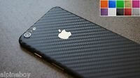 3D Textured Carbon Fibre Skin Sticker Decal Vinyl Cover FOR ALL Apple iPhone