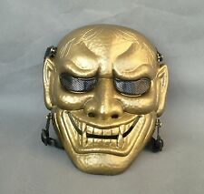 Golden Airsoft Paintball ABS Full Protection Evil Oni Noh Hannya Mask JD33