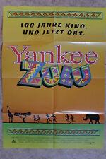 (P181) KINOPLAKAT Yankee Zulu (1993) Leon Schuster, John Matshikiza, Wilson Duns