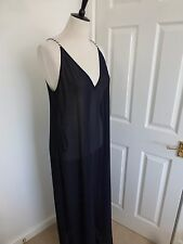 BNWT Ted Baker Noraah Navy Nautical Maxi Cover Up Dress  size M
