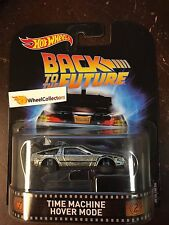 2017 Retro Hot Wheels * Time Machine Hover Mode Back To The Future Case A