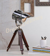 Designer Marine Tripod TABLE Lamps Searchlight Vintage Floor Spot SpotLight