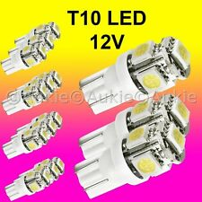 15 x T10 12V LED Interior Car Auto 5 SMD Light Bulb White Dome Globe Lights