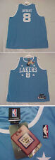 Authentic Kobe Bryant Lakers 1959 Throwback Jersey Reebok 52