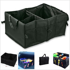 Car Foldable Boot Trunk Organizer Handy Adjustable Sundries Bag Box Storing Case