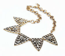 Fashion Necklaces Women Chokers Crystal Pave Galaxy Statement Collar Necklace