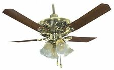 Breezalit  Designer Venus Ceiling Fan 1200 mm (Antique-Brass)