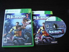 Microsoft Xbox 360 complete in case Deadrising 2 tested