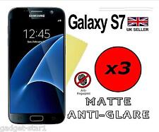 3x HQ MATTE ANTI GLARE SCREEN PROTECTOR COVER FILM GUARD FOR SAMSUNG GALAXY S7