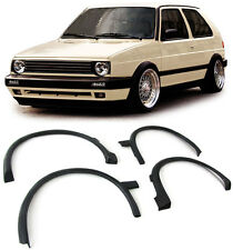 WHEEL ARCH FENDER TRIMS COVERS EXTENSIONS FOR VW GOLF MK2 MKII 2 1987-1991