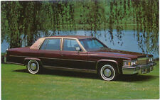 Cadillac Fleetwood for 1979 original Postcard