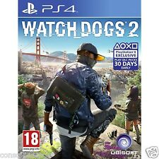 WATCHDOGS WATCH DOGS 2 PS4 BRAND NEW SEALED INDIAN STOCK