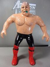 GEORGE the ANIMAL STEEL LJN WWF Pro Wrestler 1986 Rubber Action Figure Toy 8""