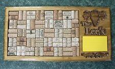 Custom handmade wine cork bulletin board with personalization