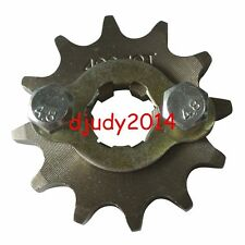 Motorcycle Scooter Dirt Bike Front Sprocket Set 428-12T 17mm 428 Chain 12 Teeth