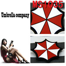 Hot Sale Militaria Patches Resident Evil Umberlla Logo PVC Rubber Magic Patch
