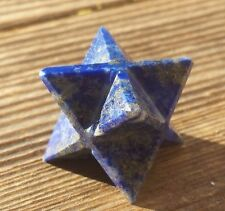NATURAL LAPIS LAZULI GEMSTONE MERKABA STAR (ONE) - BUY IT NOW