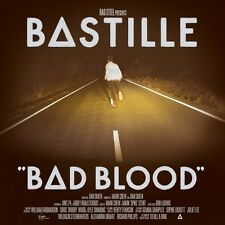 BASTILLE ( NEW SEALED CD ) BAD BLOOD ( INCLUDES TRACKS: POMPEII / FLAWS )