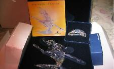 SWAROVSKI SCS 2004 ANNA WITH SIGNED PLAQUE AND STAND