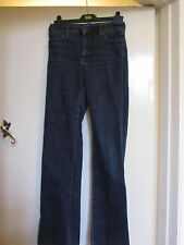 Dark Blue NYDJ Lift & Tuck Bootcut Stretch Denim Jeans in Size 8 UK - L32