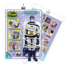 Batman 66 Classic TV Show Mego Style 8 Inch Figures Heroes In Peril Batman