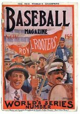 1915 November The World Series Number Cover Baseball Magazine