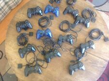 Lot Of 12 Broken PS2 Controllers, Original Brand, PlayStation 2, For Parts, OEM