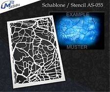 Step by Step Stencil~~ UMR Airbrush Schablone AS-055 M