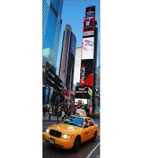 Adhesivo de pared Engaña ojo Único New York Taxi 80x220cm new york Taxi