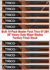 """10-Pack 28"""" Trico Heavy Duty Wiper Blades For 12x4 Large Hook Arms 67-284 x 10"""