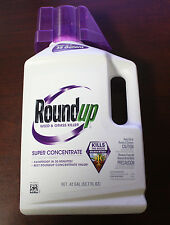 Roundup Round Up 53.7oz Super Concentrate Weed & Grass Killer Makes 35 Gallons