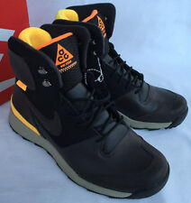 new Nike Stasis ACG 616192-221 Brown Black Lifestyle Winter Boots Shoes Men's 8