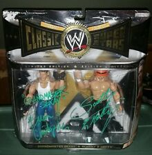 WWE Too Cool Classic Figures Brian Christopher Scotty Too Hotty Signed Autograph