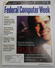 Federal Computer Week Magazine William Halter SSA Rules October 2000 071415R
