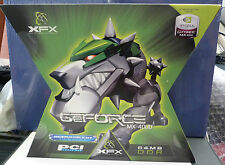 XFX nVida GeForce MX4000 64MB DDR PCI TV Graphics Card - New & Sealed Box