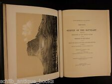 1878 1st ed Government Survey of US MAPS Border CANADA Native Americans Indians